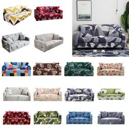 1/2/3/4 Seater Slipcover Stretch Couch Sofa Lounge Cover Rec