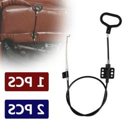 1-2x Sofa Replacement Recliner Release Pull Cables D-Ring Ha