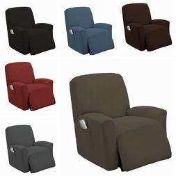 1 PC Stretch Recliner Slipcover Form Fit Furniture Chair Laz