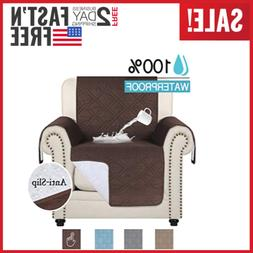100% Waterproof Recliner Chair Covers For Leather Sofa Anti