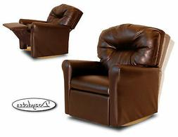 Dozydotes 11531 Contemporary Pecan Brown Leather Like Fabric