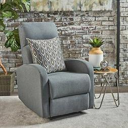 Christopher Knight Home 301402 Giovanni Recliner, Charcoal