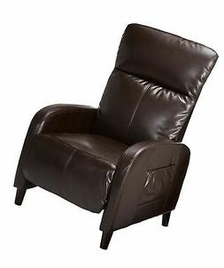 Christopher Knight Home 344806 Trenton Brown Leather Recline