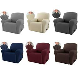 4 Pieces Recliner Cover Lazy Boy Stretch Recliner Slipcover