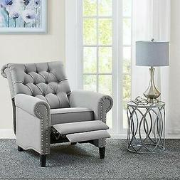 Madison Park Aidan Recliner Chair With Grey Finish MP103-082