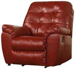 Signature Design by Ashley Alliston Leather Rocker Recliner