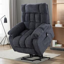 An electric lift recliner w/ heat therapy & massage w/ moder