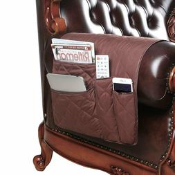 Armchair Caddy with Pockets for Chair Recliner Loveseat, Org