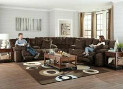 Catnapper - Branson 3 Piece Power Reclining Sectional in Cho