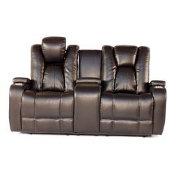 Brown Seatcraft Innovator Home Theater Seats Power Headrest