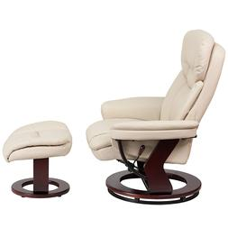 Flash Furniture BT-7821-BGE-GG Contemporary Leather Recliner