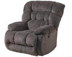Catnapper Daly Chaise Rocker Recliner in Cobblestone