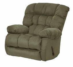 Catnapper Teddy Bear Swivel Glider Recliner in Graphite