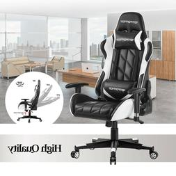 GTPOFFICE Computer Gaming Chair Office High Back Recliner Sw