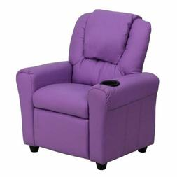 Flash Furniture Contemporary Kid's Recliner with Cup holder