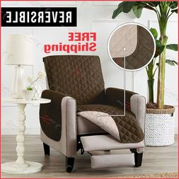Deluxe Reversible Chair Slipcover Recliner Furniture Protect