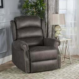 Dezzie Microfiber Power Recliner by Christopher Knight Home