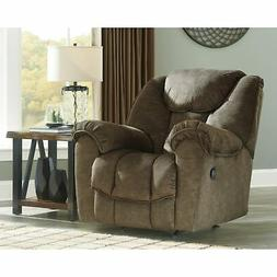 Signature Design by Ashley Earth Capehorn Rocker Recliner Br