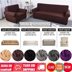 EASY Stretch Couch Sofa Lounge Covers Recliner 1 2 3 4 Seate