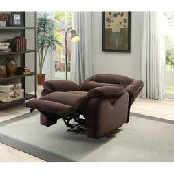 Electric Plush Recliner Power Chair Chaise Lay Flat Plush Pi