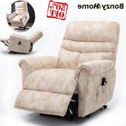 ELECTRIC POWER LIFT RECLINER CHAIR ELDERLY ARMCHAIR LOUNGE S