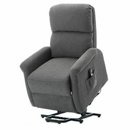 Power Lift Recliner Chair Sofa Soft Padded Seat Armchair Liv