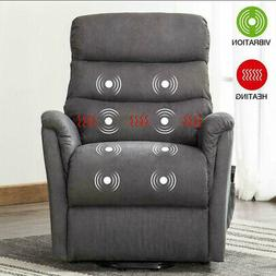 Electric Power Lift Recliner Chair with Heat Massage Vibrati
