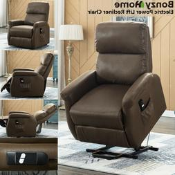 Electric Power Lift Recliner Chair Sofa Upgraded Motor Remot