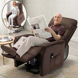 Electric Recliner Chair Sofa Power Lift Lounge Chair Padded