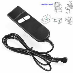 Electric Recliner Switch Remote Control 2 Button 5Pin Power
