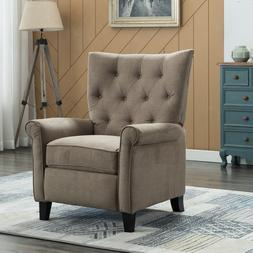 Elizabeth Push Back Recliner Chair Accent Padded Seat Lounge