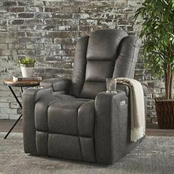 Christopher Knight Home Everette Power Motion Recliner, Slat