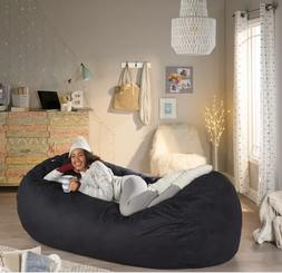 Extra Large Adult Bean Bag Chair 8 FT Oversized Dorm Lounger