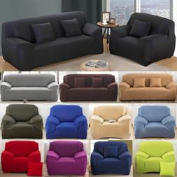 1/2/3/4 Seater Sofa Cover Stretch Recliner Covers Couch Elas