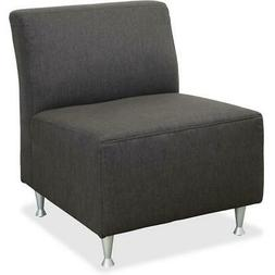 fuze lounger chair square base brown 29