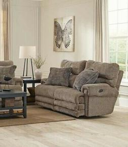 Catnapper - Garrison Power Reclining Loveseat in Camel - 626