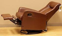 Barcalounger Grissom II Swing Glider Recliner Chair Brown Le
