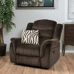 Hawthorne Fabric Glider Recliner Club Chair by Christopher