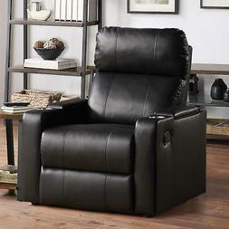 Mainstays Home Theater Recliner with USB charging ports and