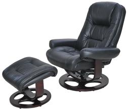 Barcalounger Jacque II Pedestal Recliner Leather Chair with