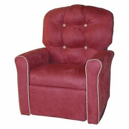 Dozydotes Kids Accent Rocker Recliner - Dusty Rose/Oyster Ac