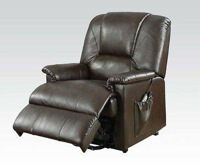 Acme Furniture 10652 Comfort with Power Lift in Brown NEW