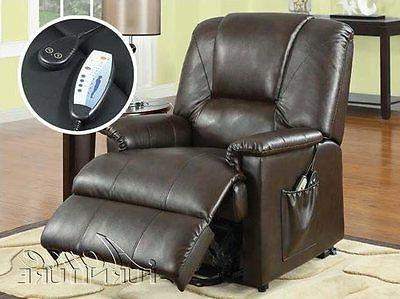Acme Furniture Comfort Power Lift Brown NEW