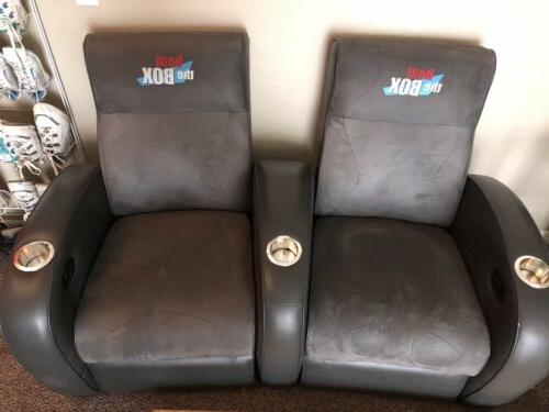 4 reclining chairs Popstar Mansion