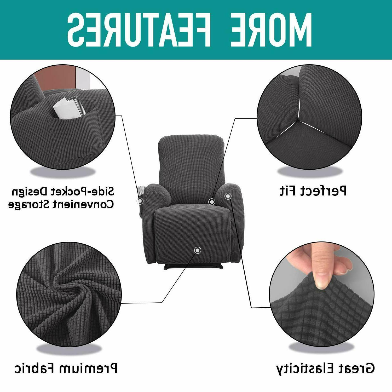 4 Recliner Lazy Boy Slipcover Chair Cover