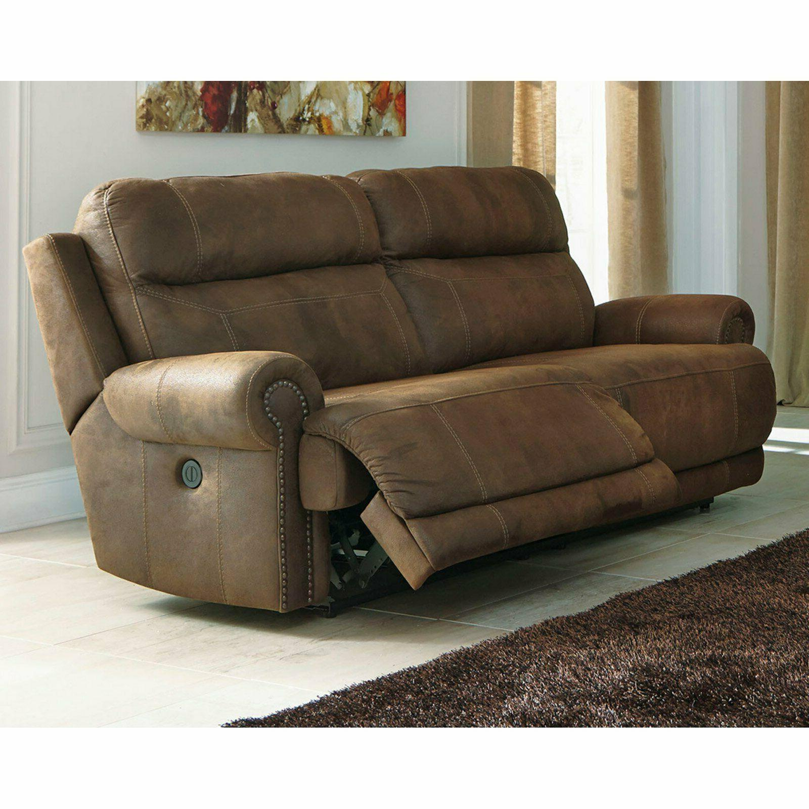 Signature Design by Ashley Austere 2-Seat Reclining Power So