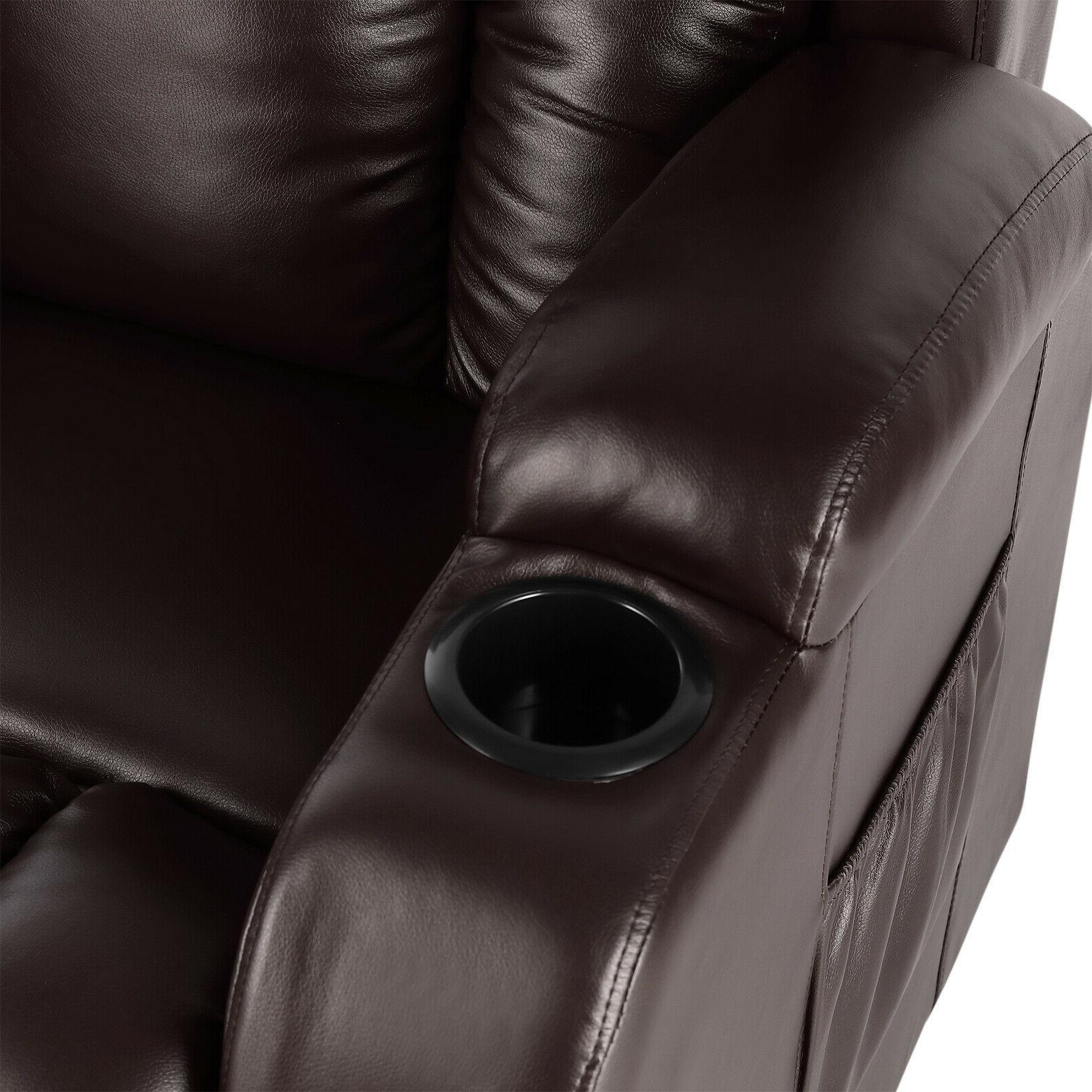 Brown Electric Power Recliner