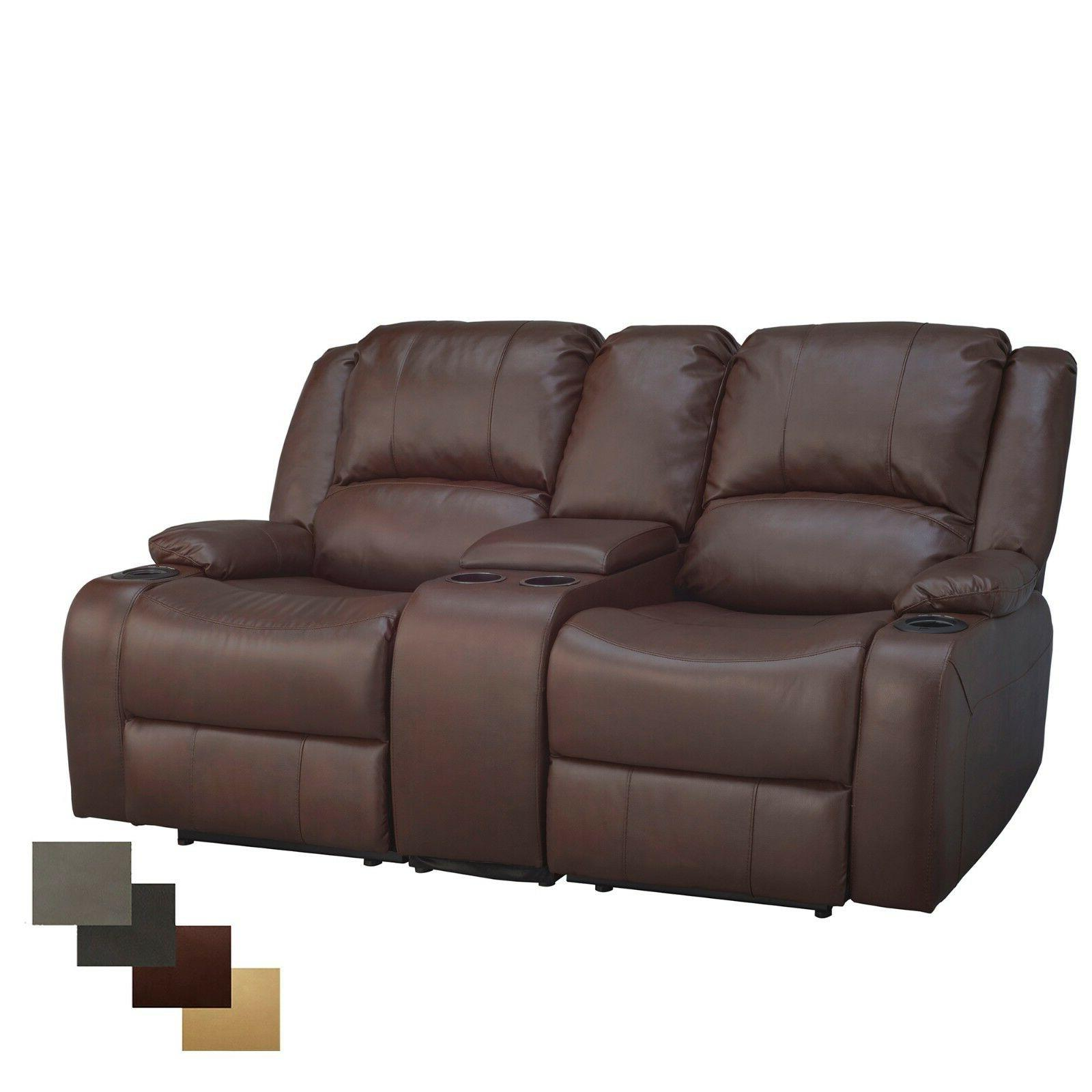 RecPro Charles Double Recliner
