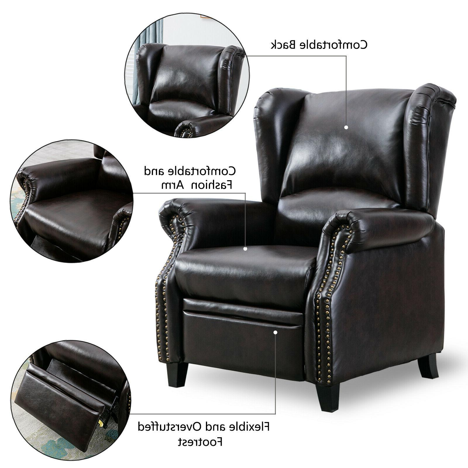 Contemporary Recliner Accent Seat Single