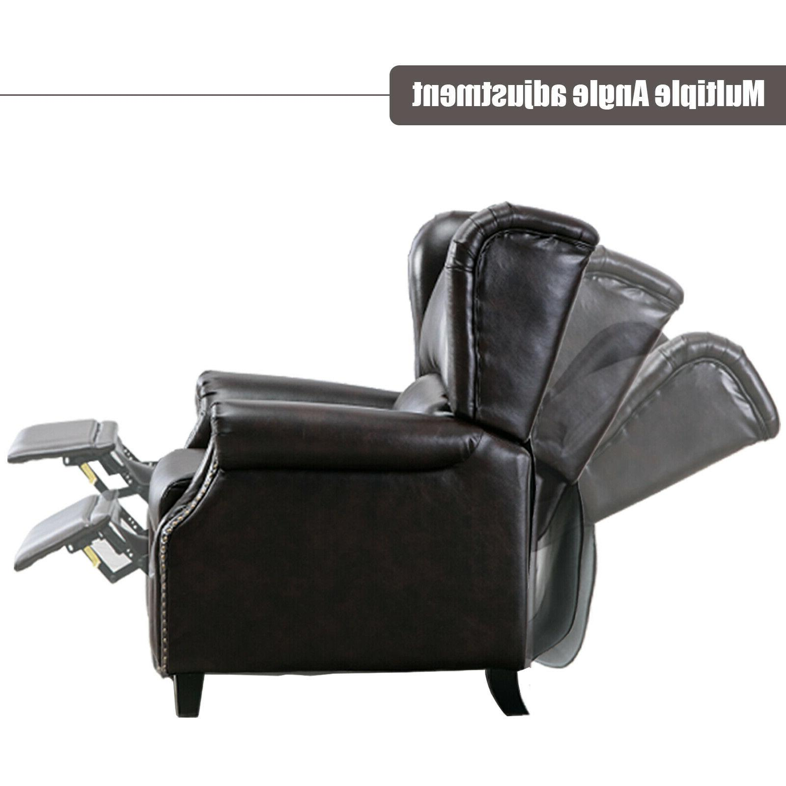 Contemporary Accent Push Padded Seat Single